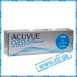 1-DAY ACUVUE® OASYS with HydraLuxe®